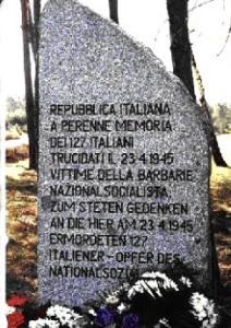 Stele dell'eccidio di Treuenbrietzen