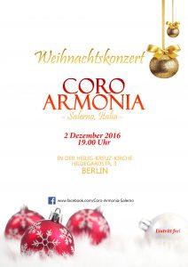 Concerto Coro Armonia @ Chiesa di Heilig Kreuz | Berlin | Berlin | Germania