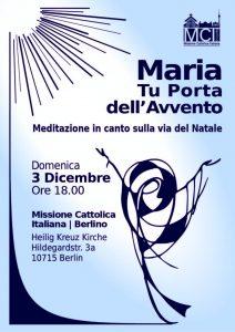 Maria Tu Porta dell'Avvento @ Chiesa di Heilig Kreuz   Berlin   Berlin   Germania